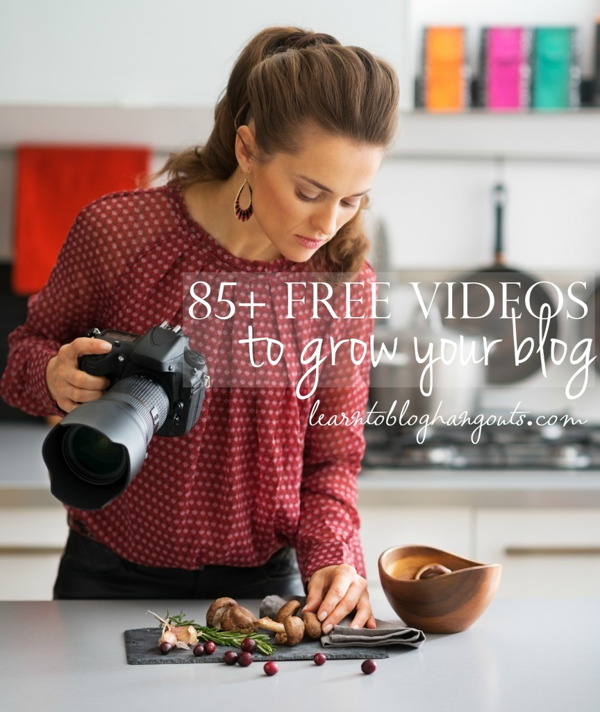 free videos to grow your blog
