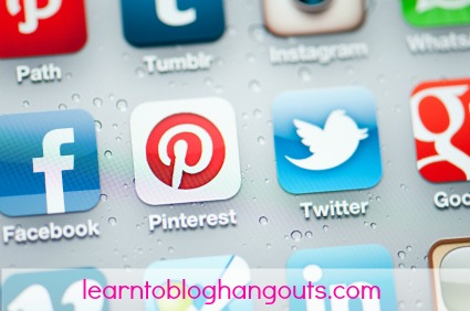 social media tips #learntoblog