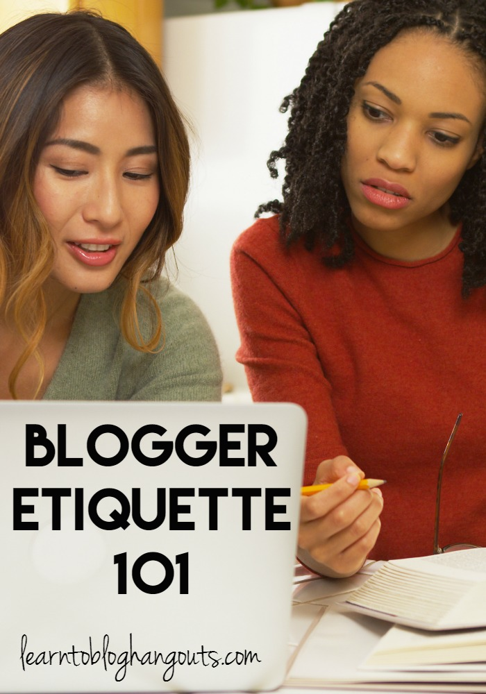 Social Media is a great place for bloggers and brands to be seen and heard. If you are a blogger that is blogging as a hobby or as a professional, good blogger etiquette should always be observed.