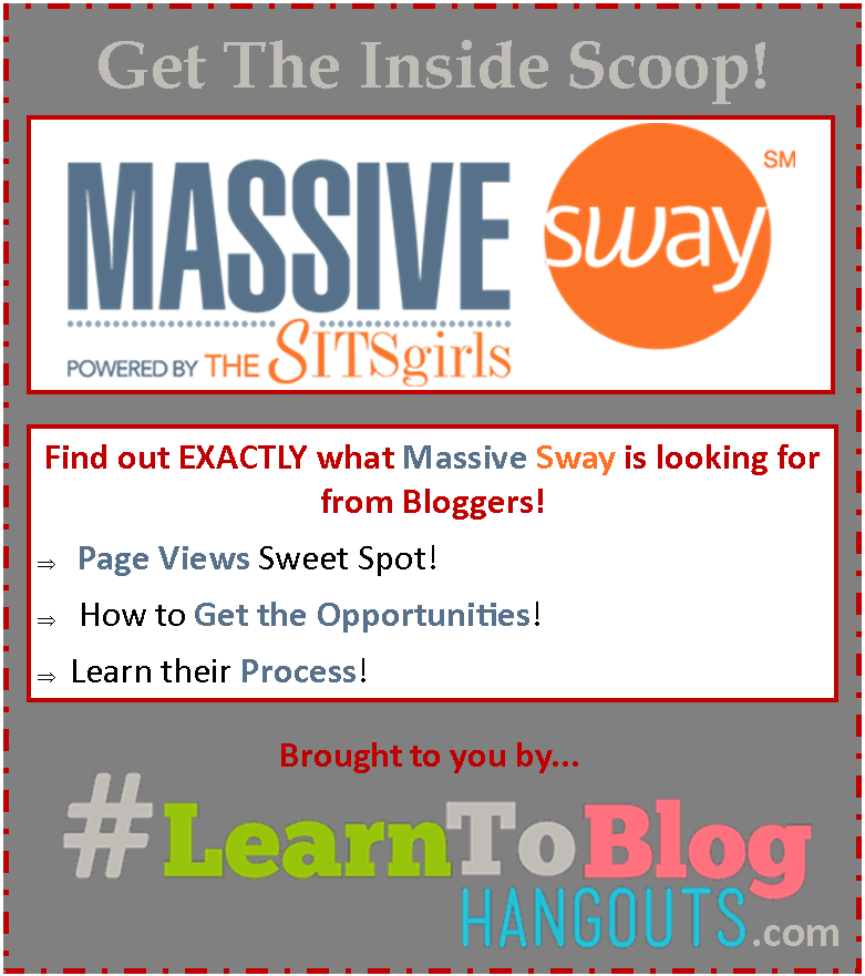 What is Massive Sway Looking for in Bloggers Who Want to Work With Brands?