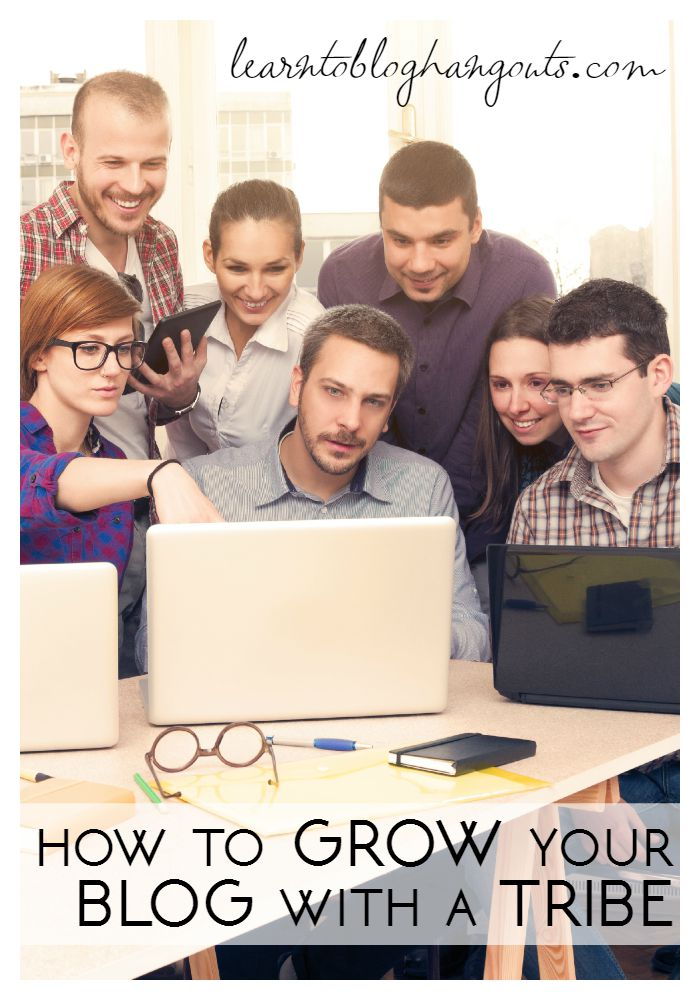 how to grow your blog with a tribe