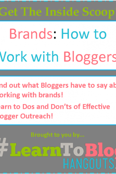 6 simple steps to follow to work with bloggers - from bloggers!