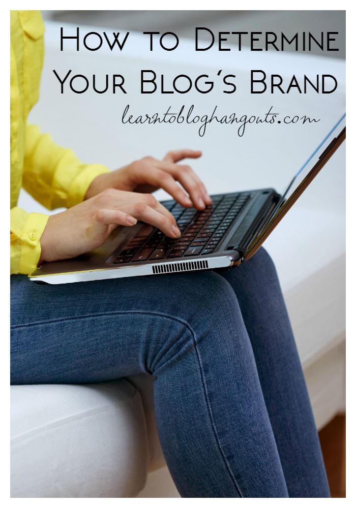 how to determine your blogs brand