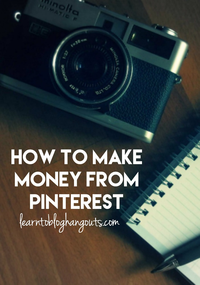 How to Make Money from Pinterest