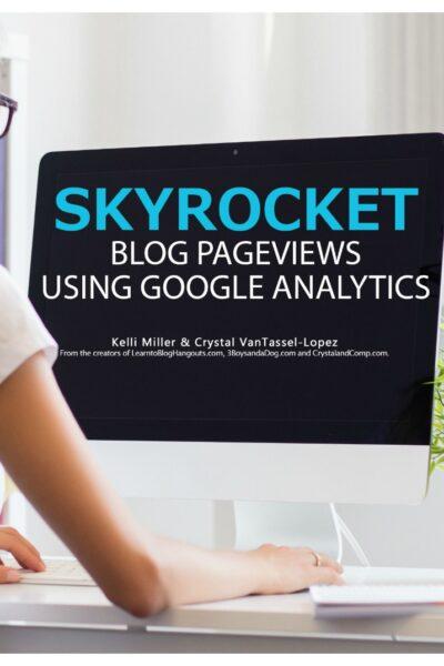 skyrocket pageviews google analytics pinable image