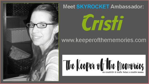 Meet SKYROCKET Ambassador Cristi