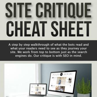 site critique cover sq