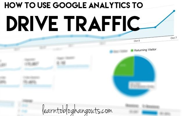 How to Use Google Analytics to Drive Traffic