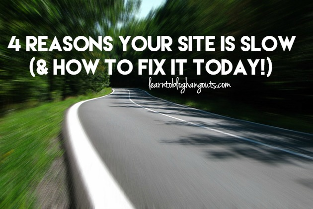 Your site could be slow for a number of reasons (besides bad hosting). If you go through some of these steps and take some of these recommendations, it will speed up your site.