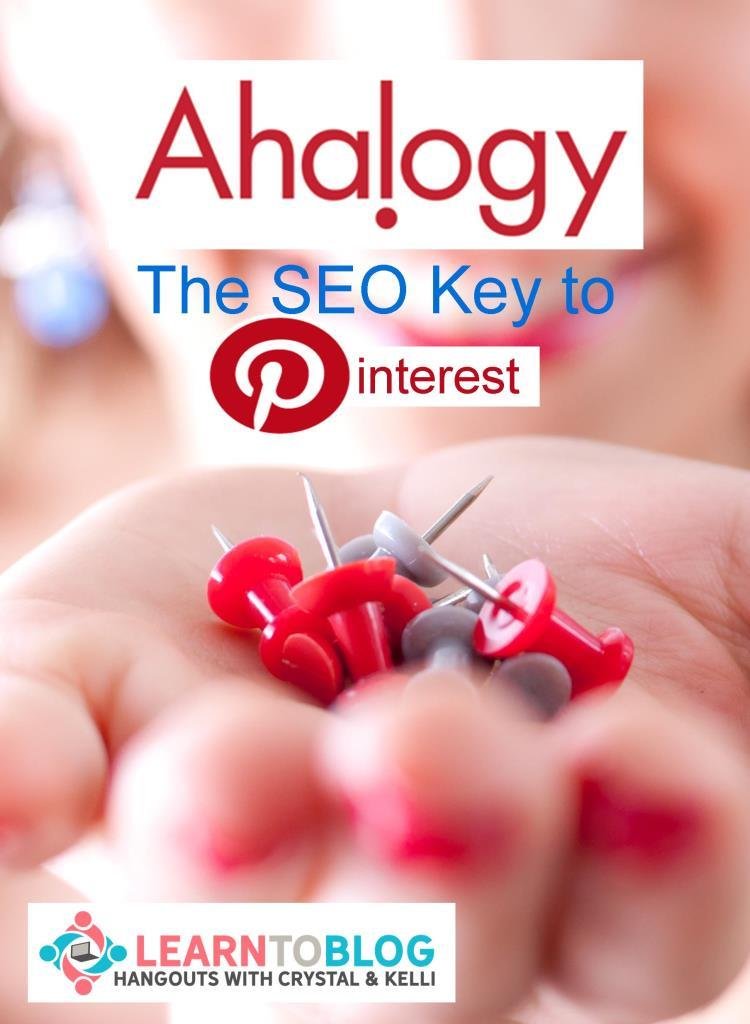 Ahalogy is your key to SEO for Pinterest