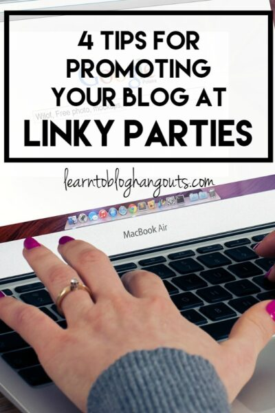 Have great content? Want more eyeballs on your posts? Looking for a new way to connect with other bloggers? Then you need to be promoting your blog through linky parties!