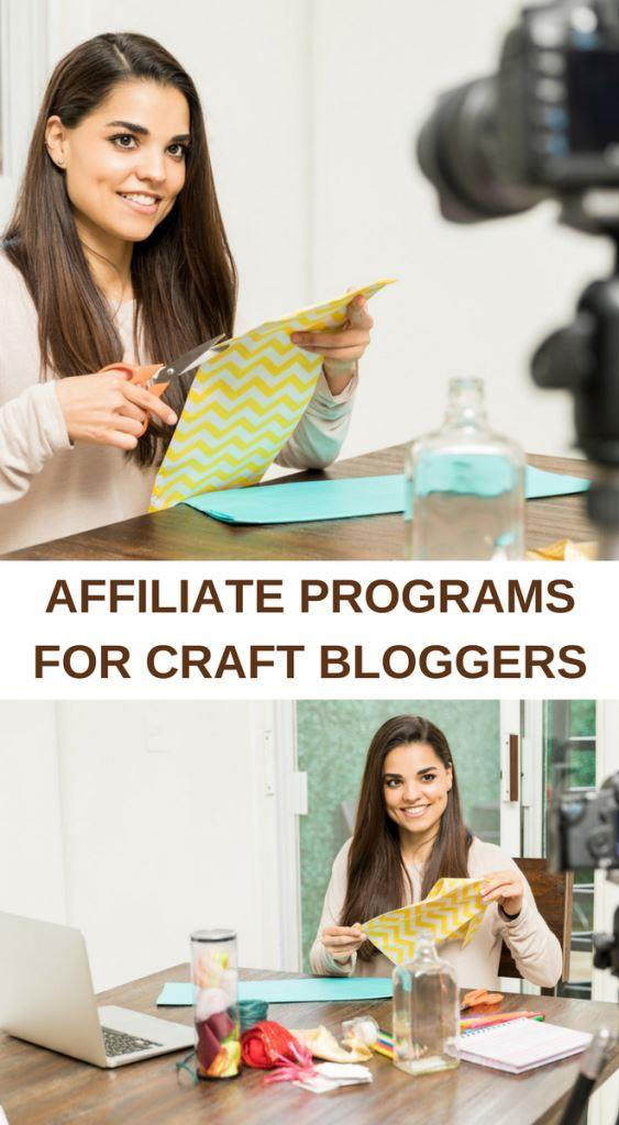 Affiliate programs for craft bloggers
