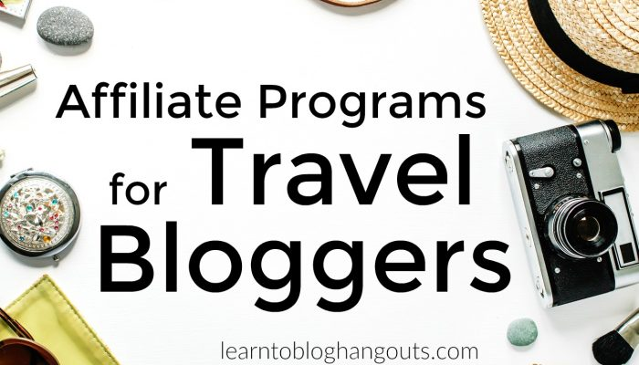 10 Affiliate Programs for Travel Bloggers